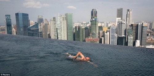 Marina Bay Sands Hotel Tower Singapore