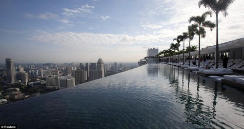 Marina Bay Sands Hotel Tower Singapore