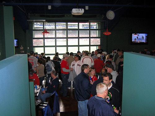 Bleacher Bar Fenway Park