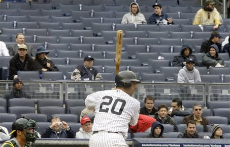 Yankees Empty Seats Baseball