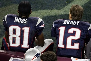 Randy Moss Tom Brady