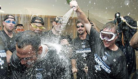 Rays win AL East