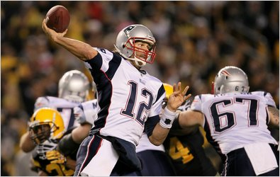 Tom Brady Beats Steelers