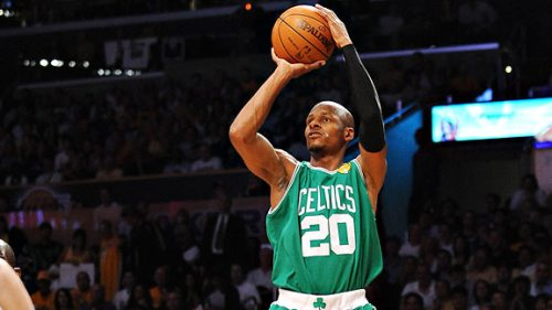 Ray Allen 3-point shooting